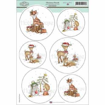 Hunkydory Topper Set Christmas is coming...