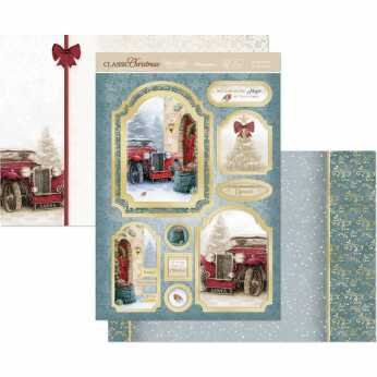Hunkydory Topper Set Christmas Snowy City