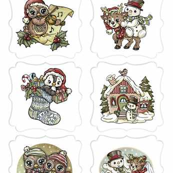 Marianne Design Card Toppers Favorites Vintage
