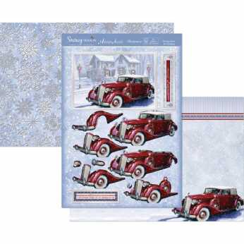 Hunkydory Topper Set Santa is coming to town II