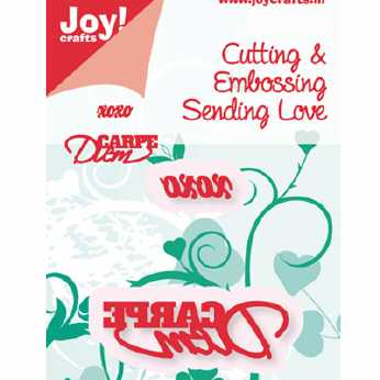Joy Crafts Stanze Merry Christmas Border
