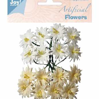 Joy Crafts Artificial Flowers weiss-creme