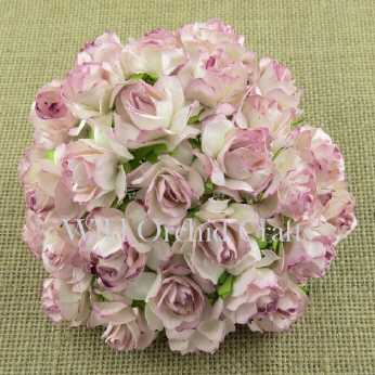 5 Stk. Rosen wild roses rose pink blush 30mm