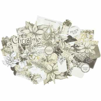 Kaisercraft Cardstock Die-Cuts Christmas Edition