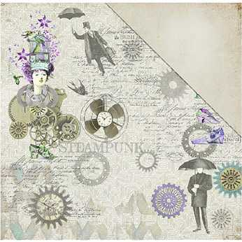 Fabcraps Scrapbookingpapier All the Blooms