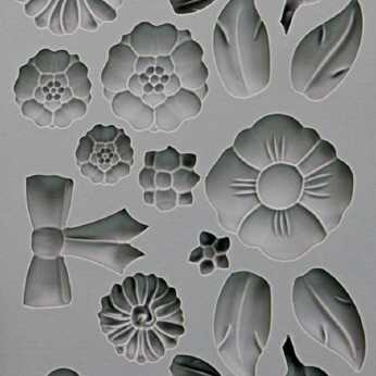 Prima Vintage Art Decor Moulds Rustic Fleur