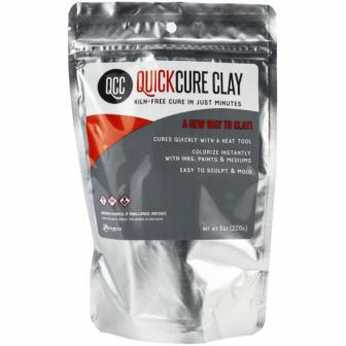 Ranger QuickCure Clay black 8oz