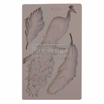 Prima re-design Decor Moulds  Regal Peacock