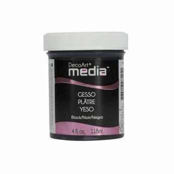 DecoArt media Black Gesso