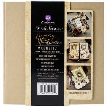Prima Memory Hardware Chipboard Album Gatefold
