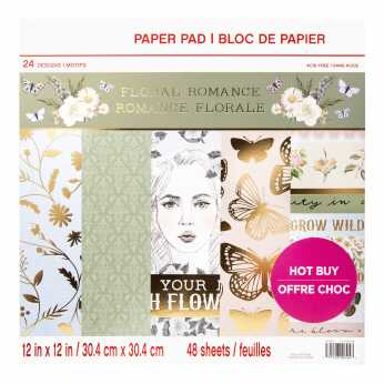 Craft Smith Papierblock Floral Romance