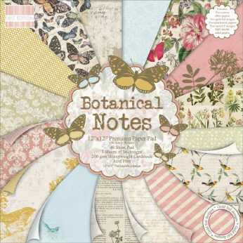 First Edition Botanical Notes Premium Paper Pad