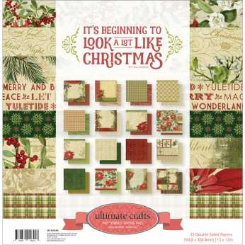 Stamperia Scrapbooking Cards Christmas Vintage
