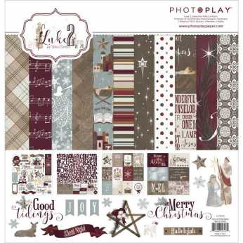 Heartfelt Creations Paper Pad Snow Kissed