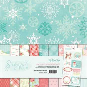 PhotoPlay Paper Pad Holiday Cheer 6 x 6""