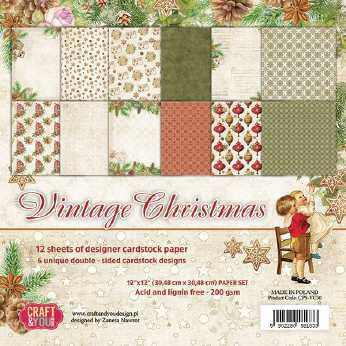 Yvonne Creations Paperpack Celebrating Christmas