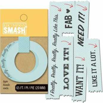 Heidi Swapp Clear Date Sticker