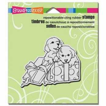 Stampendous Cling Puppy Pals