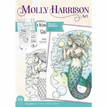 Molly Harrison Stamp Set Sea of Bubbles