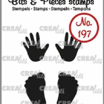 Crealies Clearstamp Baby Hands & Feet