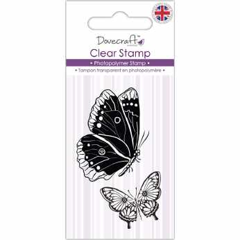 Dovecraft Clearstamp Butterflies