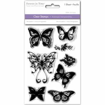 Multicraft Clearstamps Butterfly Fancy