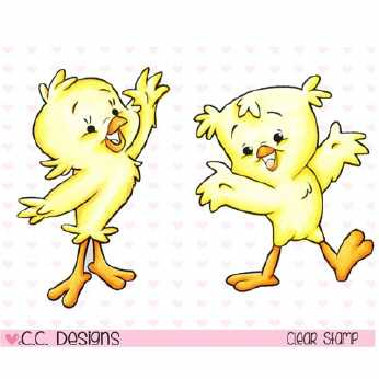 C.C Designs Stempel Chickies