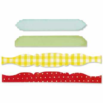 Sizzix Stanze Sizzlits Decorative Strip Card Edges