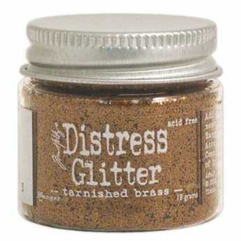 Distress Glitter Tarnished Brass
