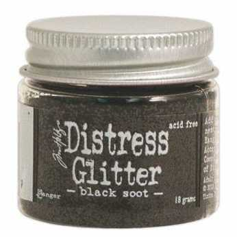 Distress Glitter Antique Linen