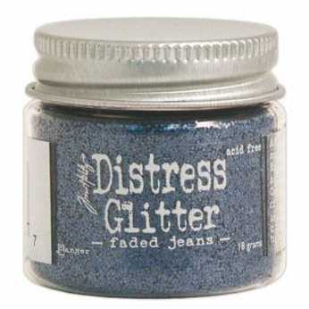 Distress Glitter Black Soot