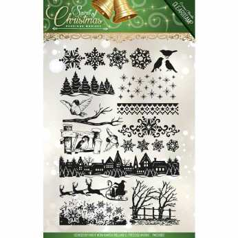 Precious Marieke Clearstamp Sprit of Christmas
