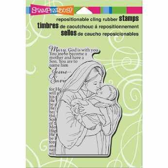 Stampendous Cling Mother Mary