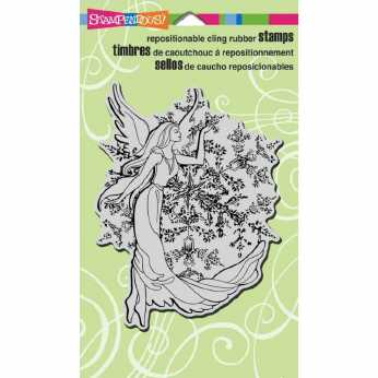 Stampendous Cling Crystal Angel