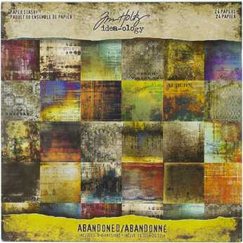 Tim Holtz idea-ology Paper Stash Departed