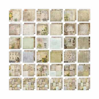 Tim Holtz idea-ology Kraft Resist Stash Seasonal