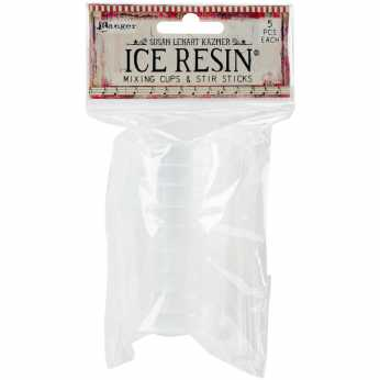 Ranger Ice Resin Mixing Cups & Stir Sticks
