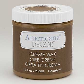 Americana Cream Wax clear