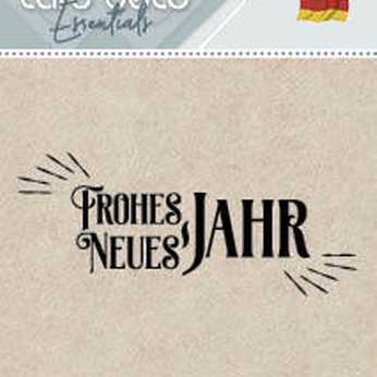 Card Deco Stempel Frohes Neues Jahr
