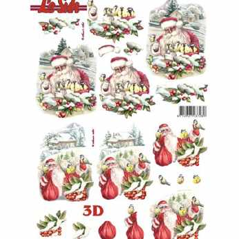 3D Stanzbogen The Feeling of Christmas - Bells