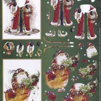 3D Decoupage Pack Victorian Christmas Children