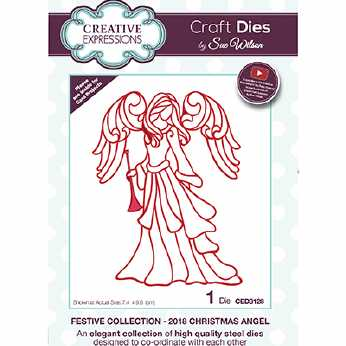Creative Expressions Stanze Christmas Angel 2018
