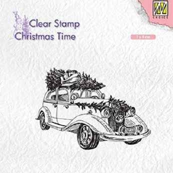 Nellie´s Clearstamp Christmas tree transport