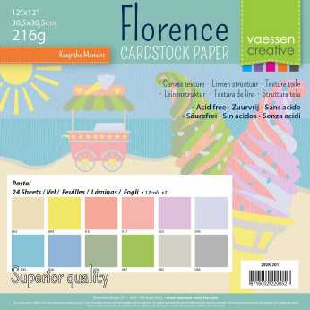 Florence • Cardstock multipack pastell