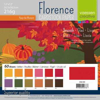 Florence • Cardstock smooth multipack Autumn