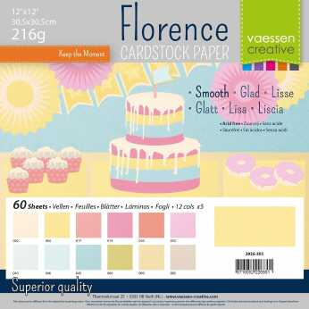 Florence • Cardstock smooth multipack pastell