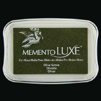 Memento Luxe Stempelkissen Olive Grove