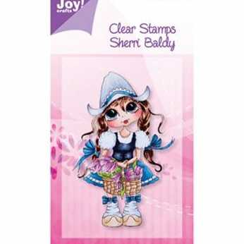 Joy Crafts Clear Stamp Sherri Baldy