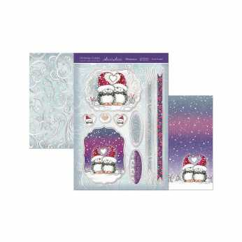 Hunkydory Topper Set Santa Claus is coming to Town