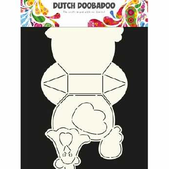 Dutch Doobadoo Box Art Chicken